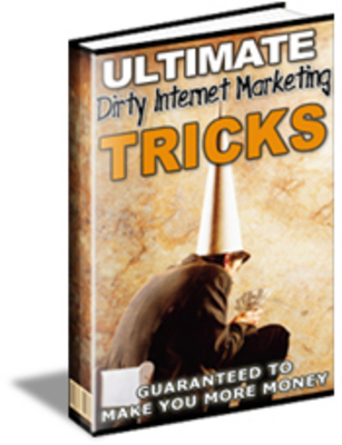 Product picture Ultimate Dirty Tricks Marketing