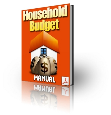 Product picture Household Budget Manual PLR