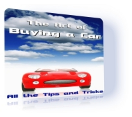 Product picture The Art of Buying a Car PLR