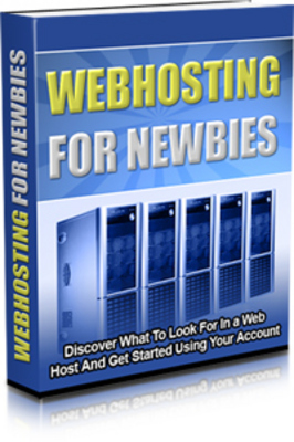 Product picture Web Hosting for Newbies MRR
