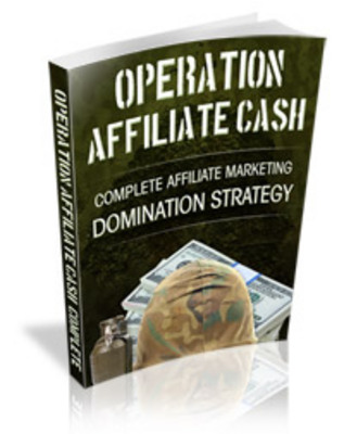 Product picture Operation Affiliate Cash MRR