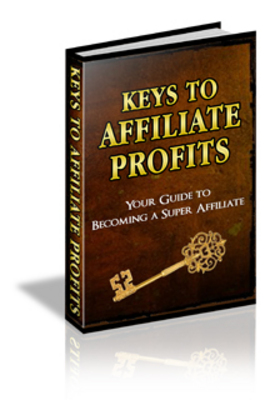 Product picture Keys to Affiliate Profits PLR