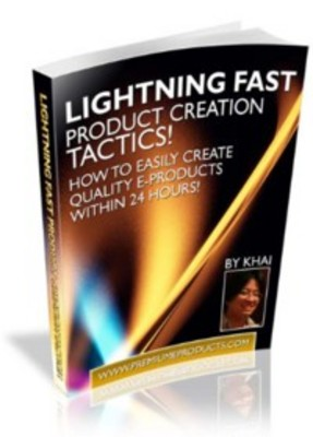Product picture Lightning Fast Product Creation